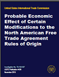 North American Free Trade Agreement Rules of Origin