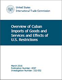 Overview of Cuban Imports of Goods and Services and Effects of U.S. Restrictions