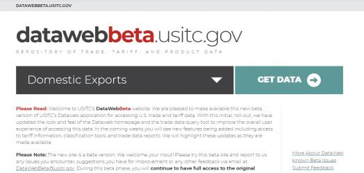 DataWeb Users – We Need Your Feedback -- Beta Version of New DataWeb Now Available!